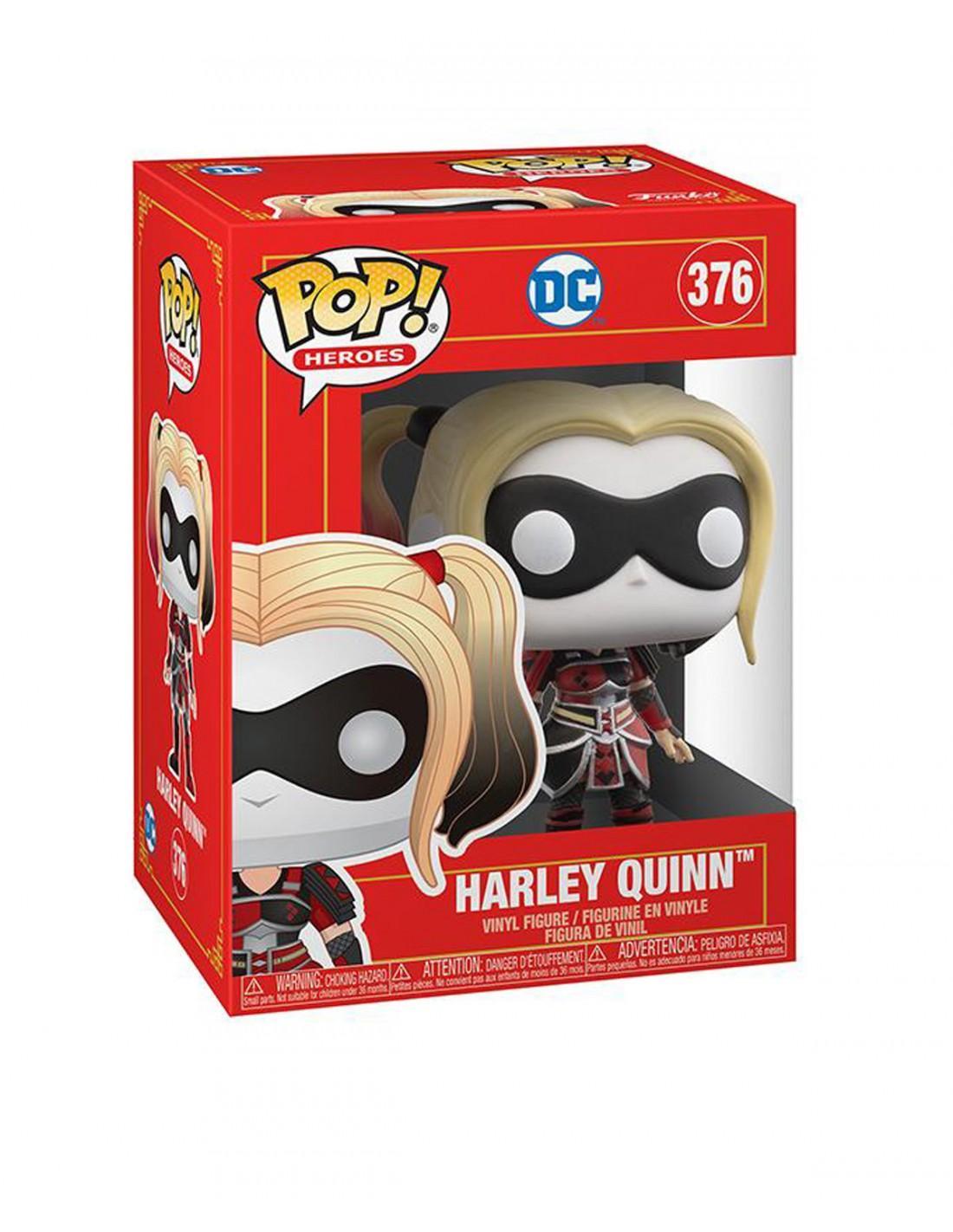 Figurine pop harley quinn pop heroes 376