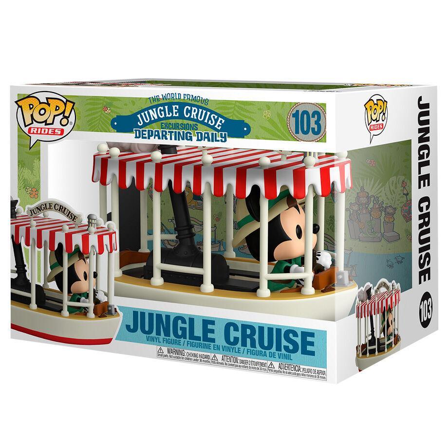 Figurine pop mickey jungle cruise disney 103