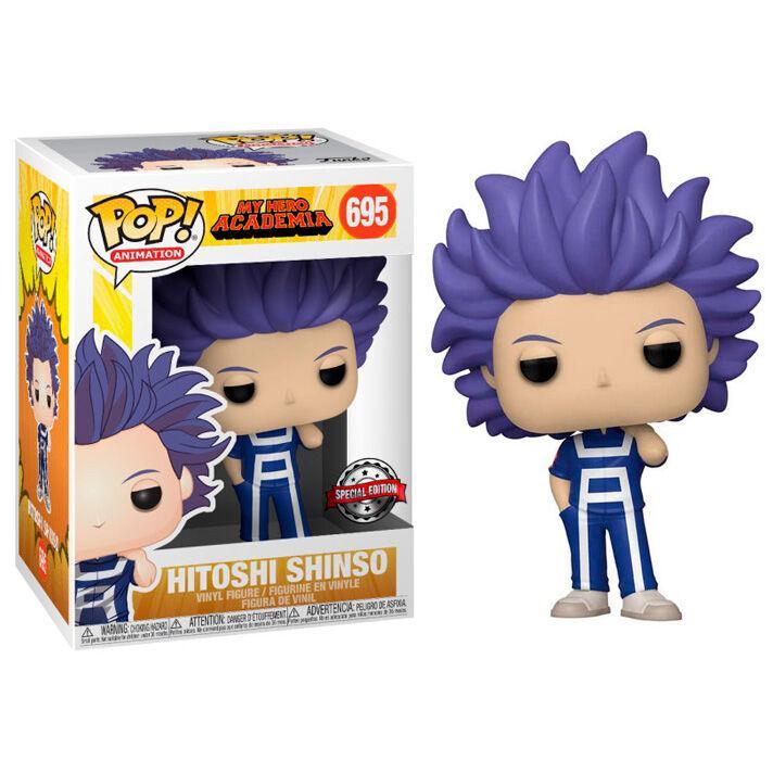 Figurine pop my hero academia hitoshi shinso exclusive