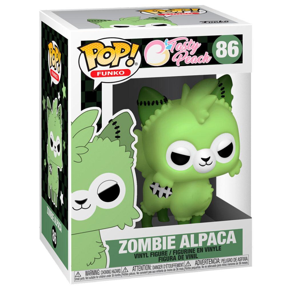 Figurine pop tasty peach zombie alpaca 86