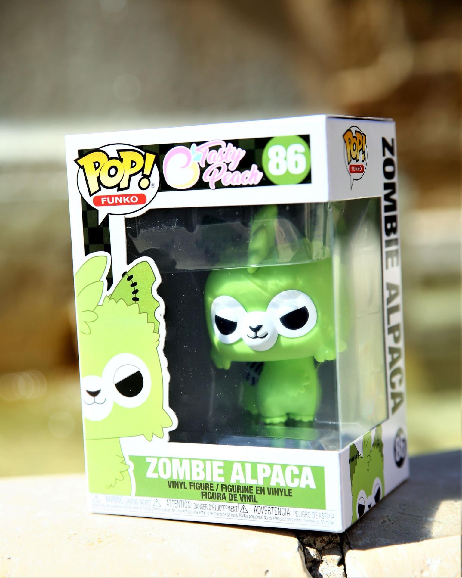 Figurine pop tasty peach zombie alpaga 86