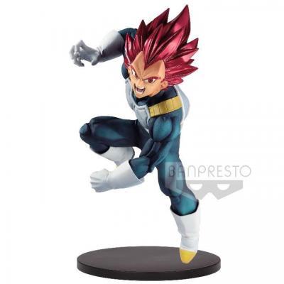 Figurine super saiyan god vegeta dragon ball super bood of saiyans special vii