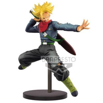 Figurine super saiyan thrunks futur chosenshi redsuden dragon ball super