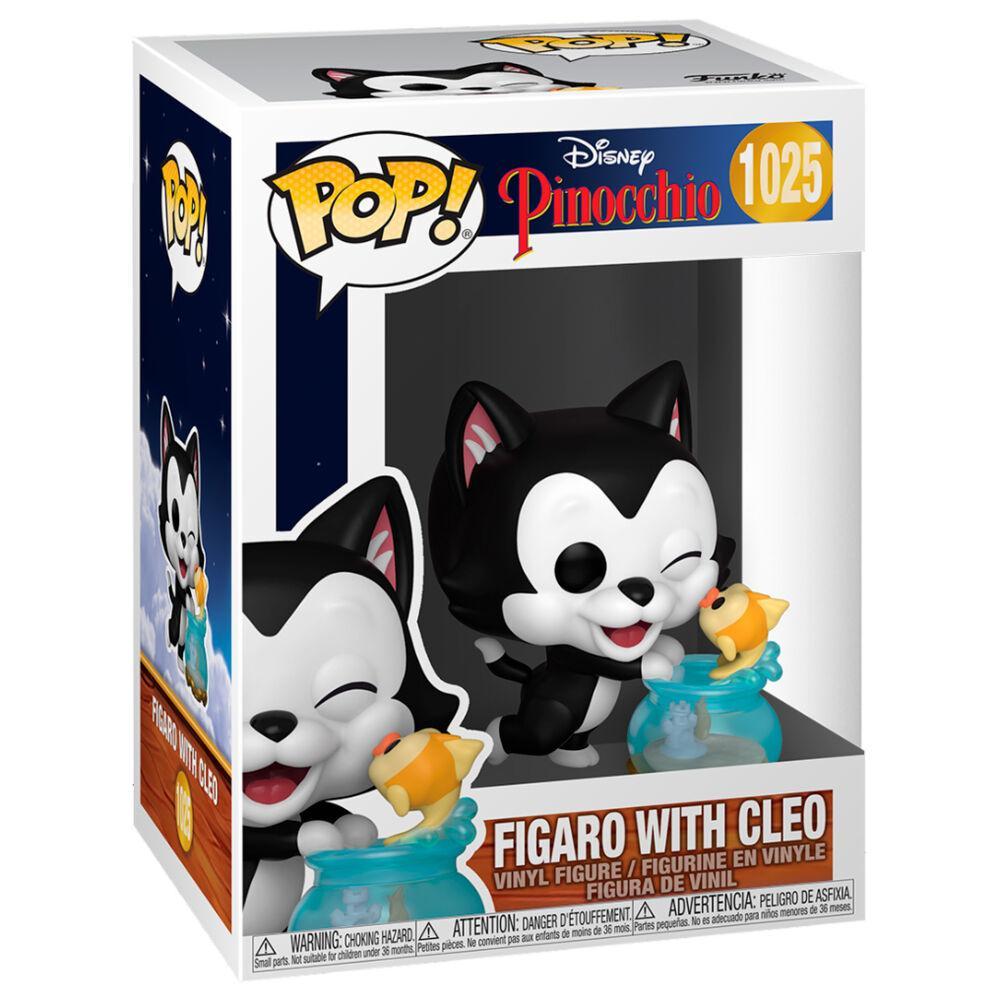 Funko pop chat figaro et cleo disney pinocchio