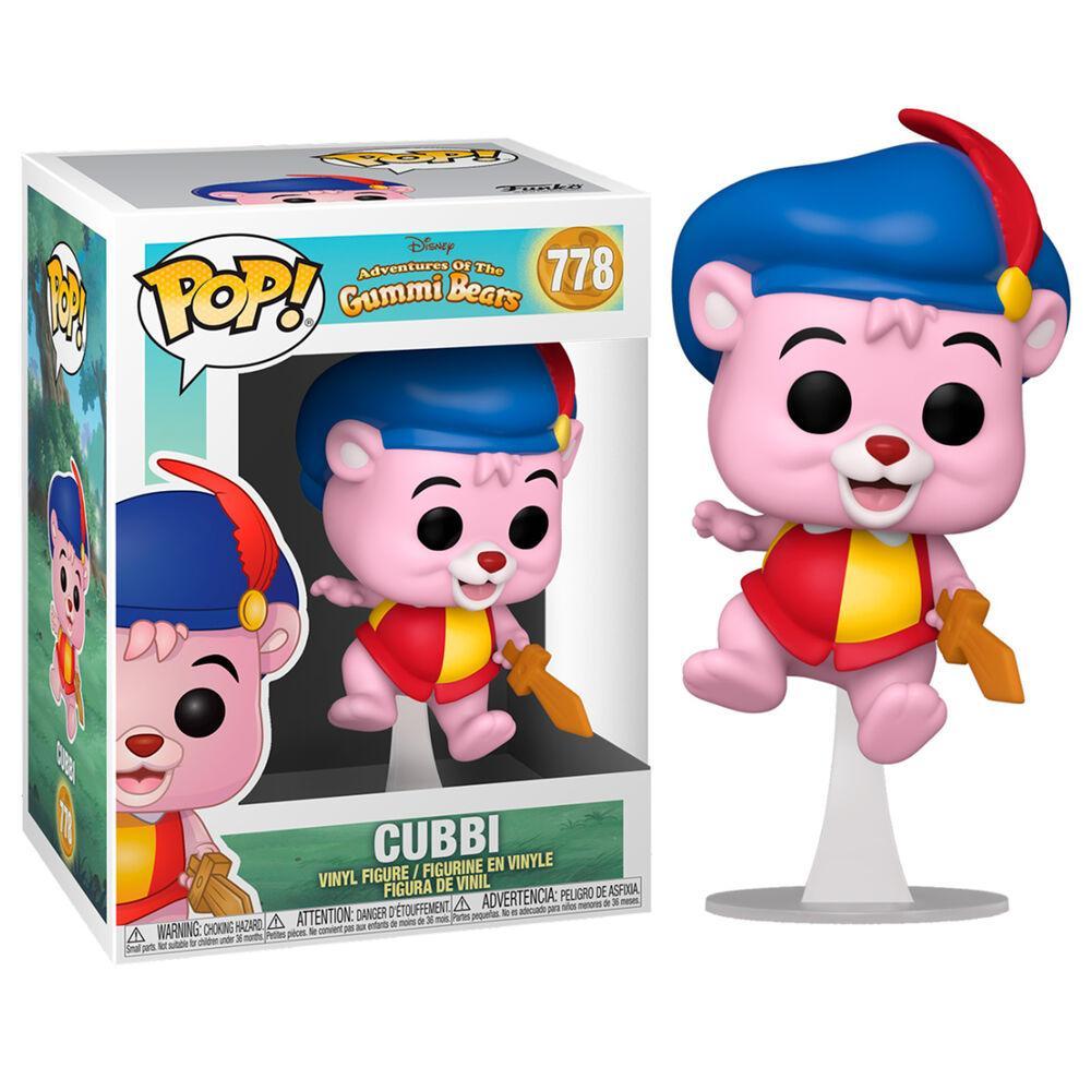 Funko pop gummi bears cubbi disney