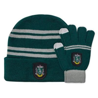 Gants et bonnets serpentard harry potter