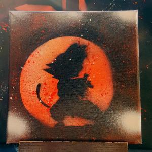 Goku tableau petit 1