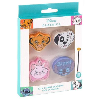Gommes disney papeterie fourniture scolaire