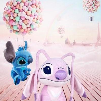 Grande peluche angel et stitch 1