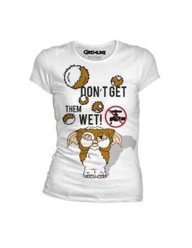Gremlins woman t shirt wet