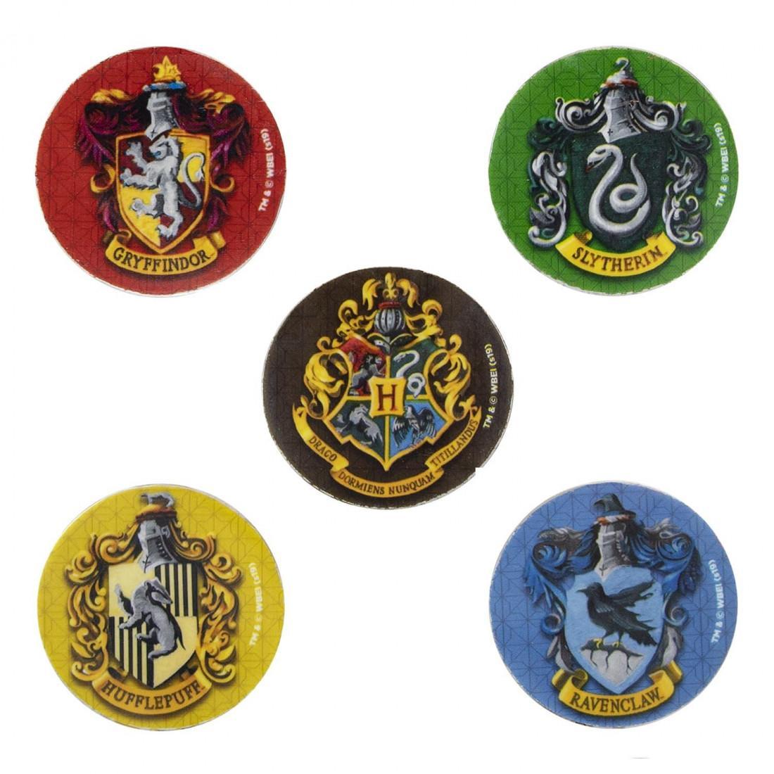 Harry potter 5 gommes maison de poudlard