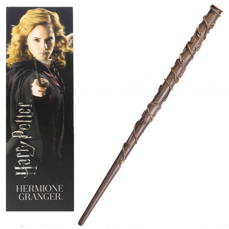 Harry potter baguette marque page hermione granger