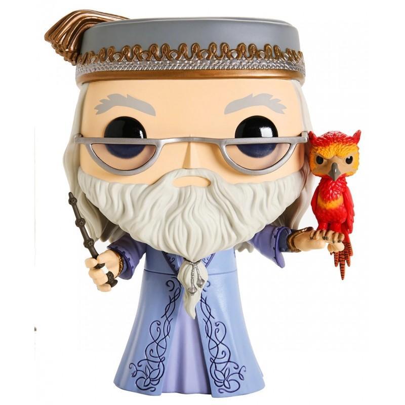 Harry potter pop dumbledore fawkes 25 cm