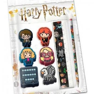 Harry potter set de papeterie chibi