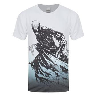 Harry potter t shirt dementor sublimation homme blanc