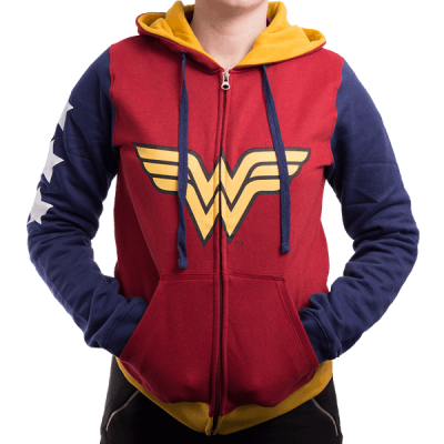 Hoodies wonder woman dc comics