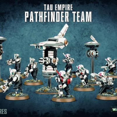 PATHFINDER TEAM  EMPIRE TAU WARHAMMER