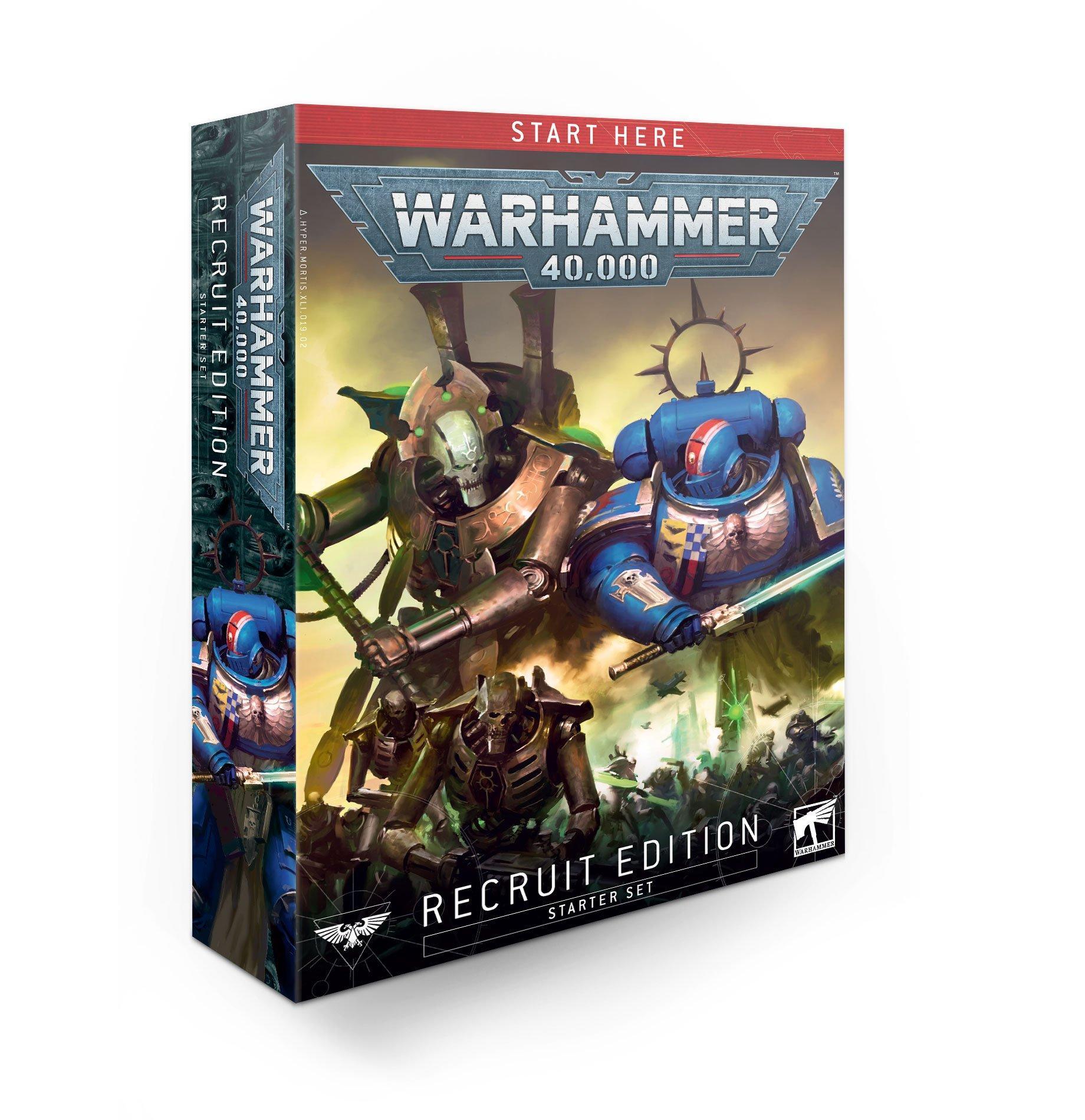 warhammer 40000 recruit