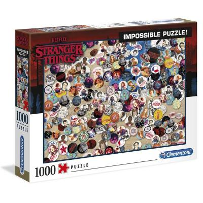 Impossible puzzle stranger things 1000 pieces
