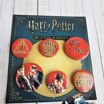 Lot de badges harry potter 1
