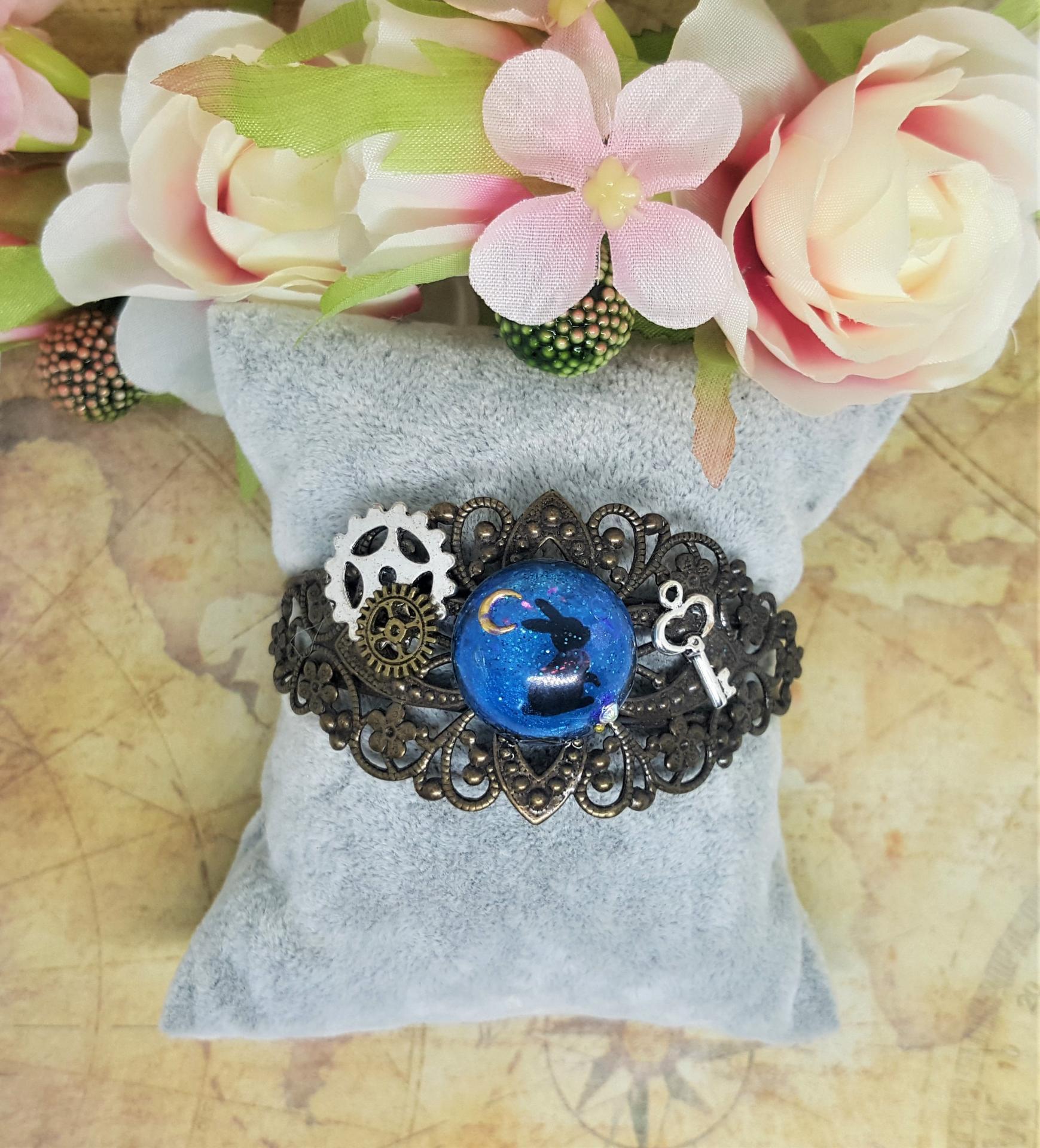 Manchette victorienne bracelet