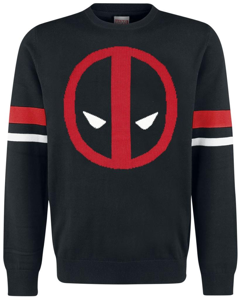 Marvel pull over deadpool logo
