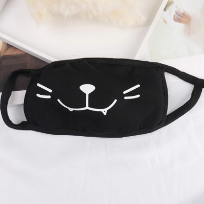 Masque anti poussiere chat kawaii