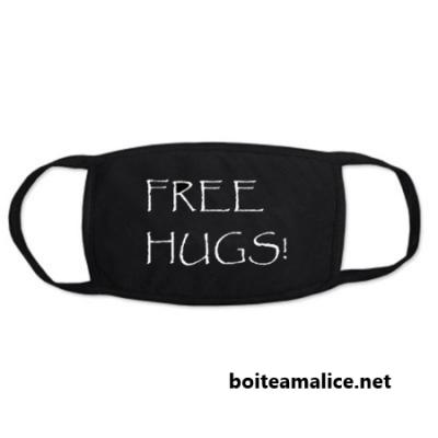 Masque anti poussiere free hugs