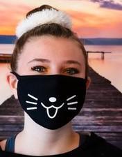 Masque chat kawaii