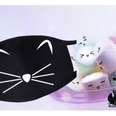 Masque chat kawaii