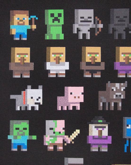 Minecraft sprites boys hoodie arty web 555x700