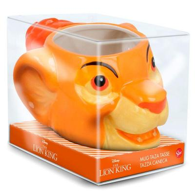 Mug 3d le roi lion