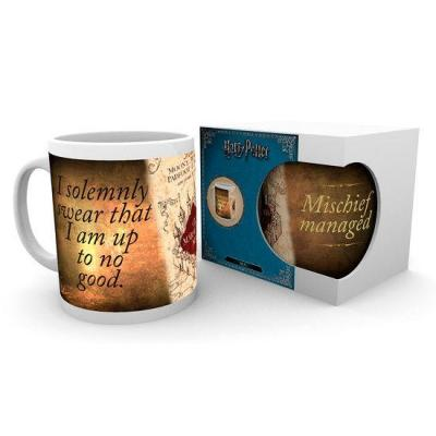 Mug carte du maraudeur harry potter