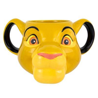 Mug disney simba roi lion 3d
