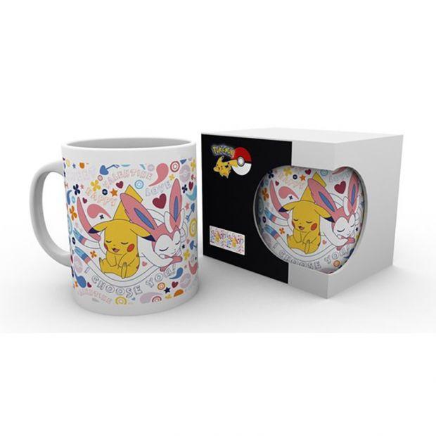 Mug pikachu et nymphali