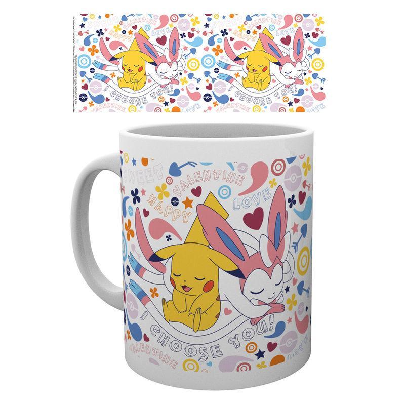 Mug pikachu valentine