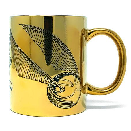 Mug vif d or metallic