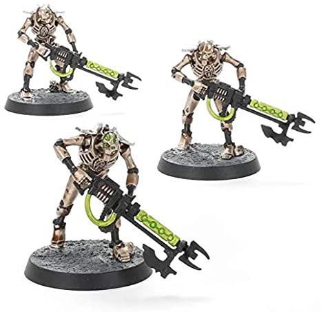 Necrons warriors paints set 1