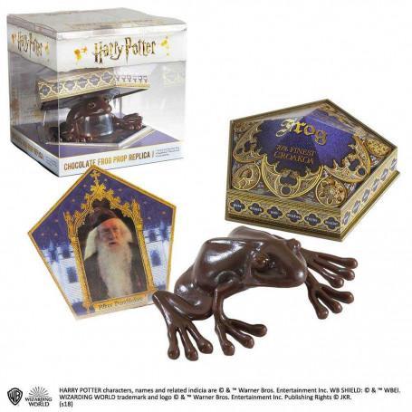 Noble collection harry potter replique chocogrenouille figurine anti stress