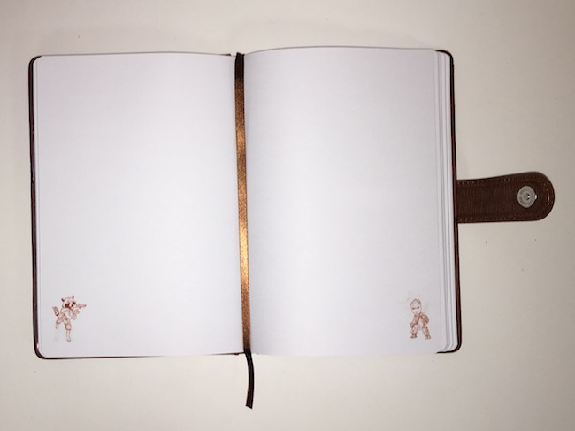 Note book groot ouvert