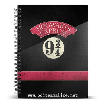 Note book harry potter 9 3 4