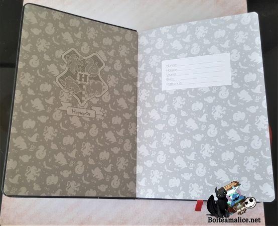 Notebook harry potter chibi