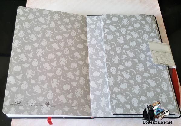 Notebook harry potter cinereplicas