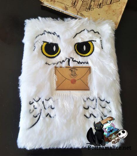 Notebook harry potter hedwige 1