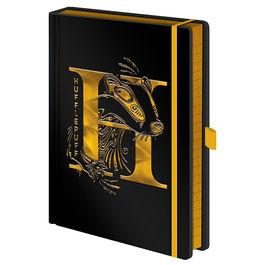 Notebook hufflepuff a5