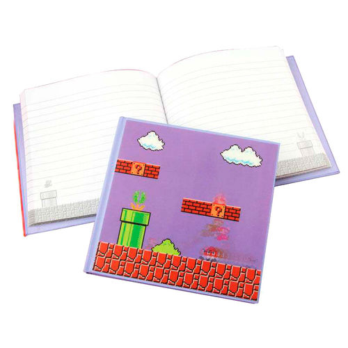 Notebook mario nitendo