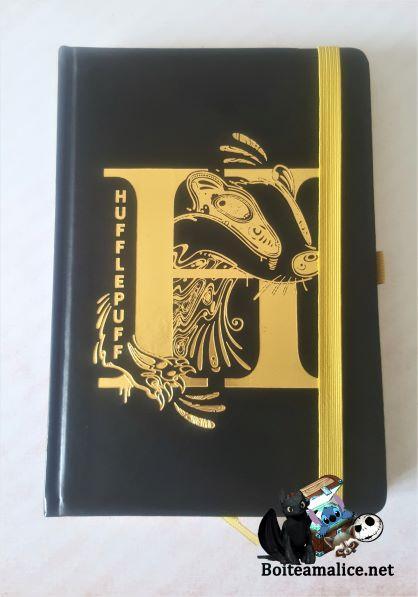 Notebook poufsouffle harry potter 1