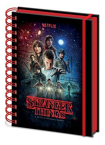 Notebook stranger things