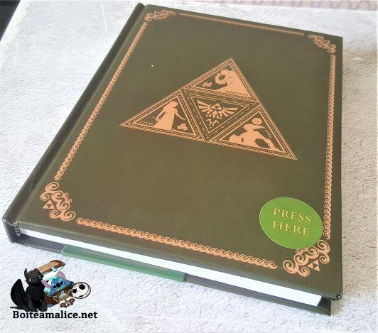 Notebook zelda de luxe