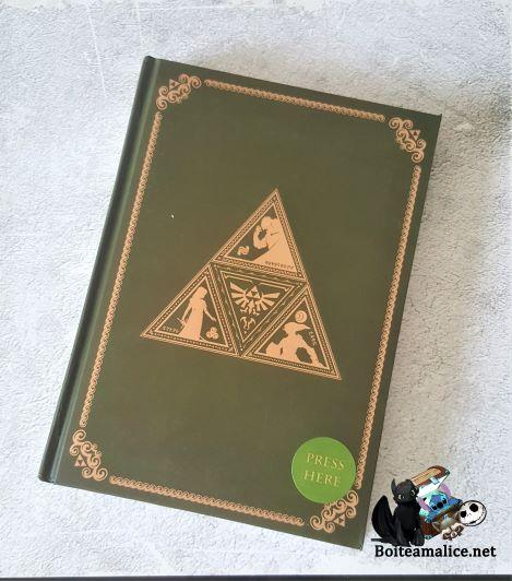 Notebook zelda triforce
